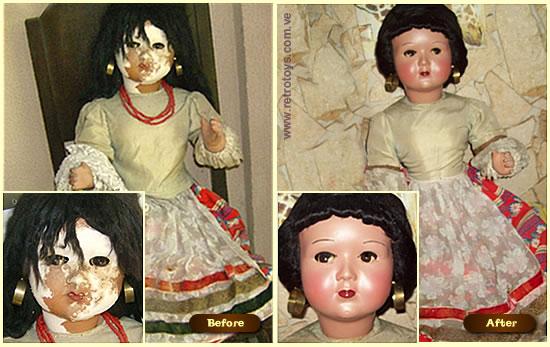 muñecas que caminan